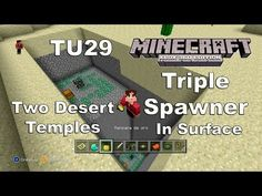 Minecraft: XBOX 360/ONE/PS3/PS4 Seed TU29 / Triple Spawner in Surface / The Best SEED Desert Temples - http://dancedancenow.com/minecraft-backup/minecraft-xbox-360oneps3ps4-seed-tu29-triple-spawner-in-surface-the-best-seed-desert-temples/