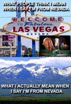 Oh Nevada    Las Vegas isn't NV, it's CA