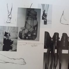 NOBODY WILL BELIEVE YOU #moodboard#from#my#collection#college#photography#art#fashion#portfolio#dyploma#shoes#platforms#sandals#black#white#annapietrowicz  annapietrowicz.com