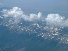 Clouds over mountains © 2005 Moyralyn
