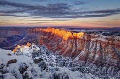 Winter in the Grand Canyon Photo by Andrei Stoica — National Geographic Your Shot