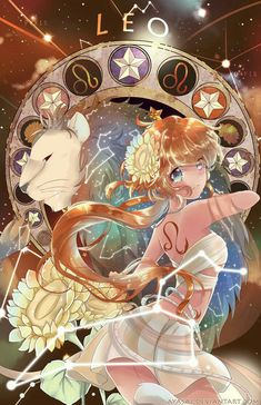leo [Zodiac Constellations] by Ayasal Kawaii Anime, Anime Pokemon, Anime Chibi, Manga Anime, Anime Zodiac, Zodiac Art, 12 Zodiac, Zodiac Signs, Zodiac Cancer