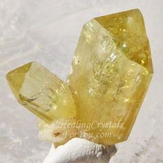 Crystal Properties and Meanings #Brazilianite embody #ancientAtlantean energy & can uncover #pastlives in #Atlantis These #goldencrystals #boostmanifestation | #creativity #usingwillpower