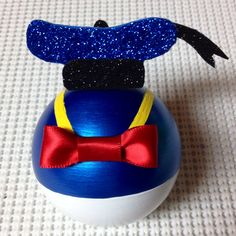 My 1st Donald Duck ornament I made for my Disney tree! :)