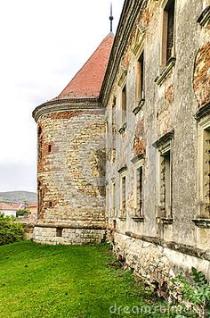 Image of ruin, baroque, garbage - 37458906 Romania, Baroque, Daughters, Medieval, Castle, Stock Photos, Mansions, House Styles, Building