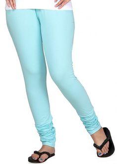 Clifton Aqua Blue Womens Snug Tights Shoplik.com