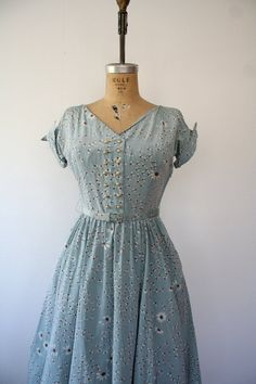1950s dress / vintage 50s dress / Fantasia Daisy by nocarnations, $128.00