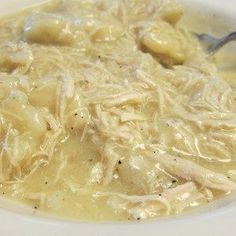 Quick and Easy Chicken and Dumplings is a classic Southern dish that is surprisingly easy to make, especially if you use my secret ingredient.
