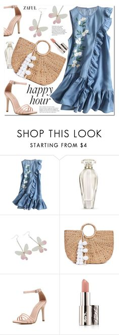 """Happy Hour"" by duma-duma ❤ liked on Polyvore featuring Victoria's Secret, JADE TRIBE, Avon and happyhour"