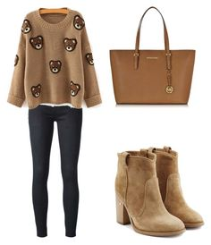"""""""Sweater Weather"""" by tania-alves ❤ liked on Polyvore featuring Koral, Laurence Dacade and Michael Kors"""