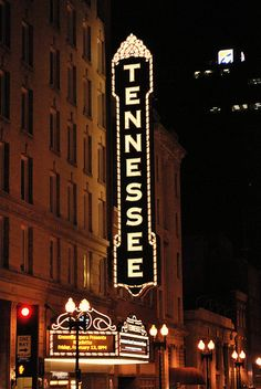 The Tennessee Theater on Gay St. Knoxville, TN