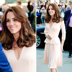 Catherine, Duchess of Cambridge visits the 'Vogue 100: A Century Of Style' exhibition at National Portrait Gallery on May 4, 2016 in London, England.
