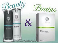 Beauty and Brains - Nerium has it all!  Join my team with this cutting-edge class act company!  Want more information or a call? Leave your contact info at: sdufrane.arealbreakthrough.com
