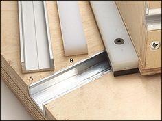 Veritas® Miter Slot Extrusion - Woodworking