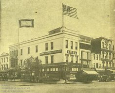 The Young Men's Hebrew Association (YMHA), formed in 1912, moved into this building at 11th and Pennsylvania Avenue, NW, in 1918. The organization was the predecessor to the The Jewish Community Center of Greater Washington and Washington DCJCC.