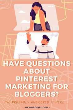 Pinterest Marketing For Bloggers ~ Questions + Answers | UKWordGirl | #Pinterest #Pinterest101 | Pinterest Marketing | Pinterest For Bloggers | Pinterest Marketing Strategy | Pinterest Marketing Guide For Beginners Question And Answer, This Or That Questions, How I Feel, News Blog, Pinterest Marketing, Other People, Social Media Marketing, Tips, Counseling