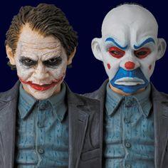 Action Figure MAFEX: Heath Ledger como Coringa Ladrão de Banco