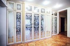 Шкаф с распашными фасадами из МДФ / Мебель на заказ / Меб Эстет