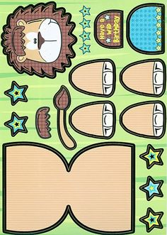 Leeuw knutselen met kleuters / lion craft preschool / Leon