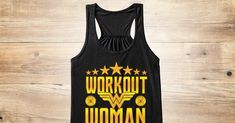 Discover Workout Woman Women's Tank Top, a custom product made just for you by Teespring. With world-class production and customer support, your satisfaction is guaranteed. - Workout Woman