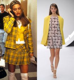 clueless yellow outfit fashion | ... to Blossom And How To Recreate Their Signature Looks | Grazia Fashion