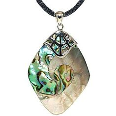 Sterling Silver Shell Pendant - Abalone (Jewelry) http://www.amazon.com/dp/B005E1DVEW/?tag=pindemons-20 B005E1DVEW