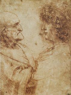 ► Leonardo da Vinci ~ Come l'occhio meno s'inganna ne' suoi esercizi..