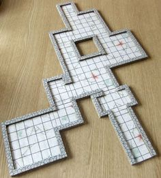 Following in the footsteps of DM Scotty and DMG here is a modular and printable grid-based system for 2.5D RPG terrain.