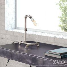 Basanite Table Lamp Steel