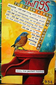 September List #4 Things to do on a Sunday Morning... by Michelle Rydell, via Flickr