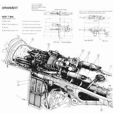 """Westland """"Whirlwind"""" Mk.I, plany modelarskie. (Źródło"""