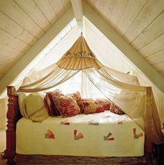 Rustic Bedroom by Kelley McDowell in Los Angeles, California