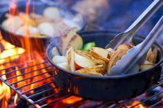 5 buenos consejos para preparar y almacenar la comida al ir de camping.
