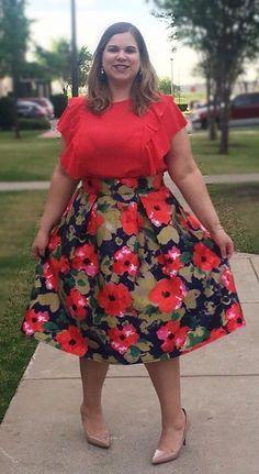 Stylish Plus-Size Fashion Ideas – Designer Fashion Tips Plus Size Beauty, Plus Size Fashion For Women, Plus Size Womens Clothing, Fashion Tips For Women, Curvy Fashion, Trendy Fashion, Fashion Outfits, Plus Fashion, Plus Size Skirts