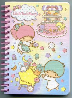【2012】Notebook (Manufactured by Hong Kong) ★Little Twin Stars★