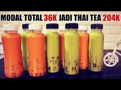Unraveling Premium Recipes: Thai Tea & Green Tea Jelly + Tips & Tricks Thai Tea Recipes, Yummy Snacks, Snack Recipes, Avocado Dessert, How To Make Greens, Bubble Tea, Jelly, Smoothies, Cake Decorating