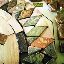 Image result for melrose abbey tile