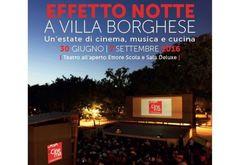Estate+a+Roma:+musica,+cinema+e+cucina+al+teatro+all'aperto+a+Villa+Borghese