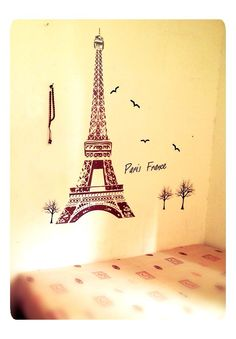 Wallsticker for your room decoration, easy and cheap.