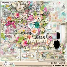 Live In The Moment Collection by Palvinka Designs | Digital Scrapbook @ at The Digichick