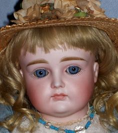"16"" Kestner XI ~ Antique Clothes ~ Original Wig ~ Breathtaking!"