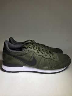 Men's Nike Internationalist TP Tech Fleece Cargo Khaki 749655 301 Size 11 5  | eBay