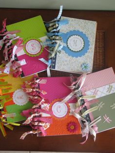 Prayer journals- cute idea for prayer partner gifts!!