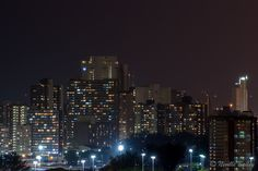 Durbs at night. Seattle Skyline, New York Skyline, Building Concept, South Africa, Night, Architecture, Travel, Arquitetura, Viajes