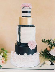 Parisian inspired cake