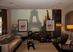 Paris has something wonderful & we couldn't wait to capture that in a wall mural. Take a look. http://www.inkshuffle.com/Paris-1330375388