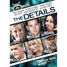 Spider-Man's Tobey Maguire and Hunger Games' Elizabeth Banks star in dark comedy film 'The Details', coming to DVD and Blu-ray on Tuesday, April 30, 2013. Cast: Ray Liotta, Kerry Washington, Laura Linney, Dennis Haysbert
