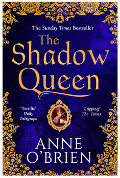 The superb new cover for the paperback edition of The Shadow Queen.  Published 22nd March 2018.