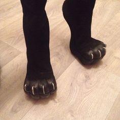 Купить Кошачьи лапы. (Антролапы) - rezakov, антролапы, чудо обувь, авангард, обувь без каблука
