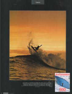 Surf Session - French Magazine - Benjamin Sanchis - Surf Team - July12